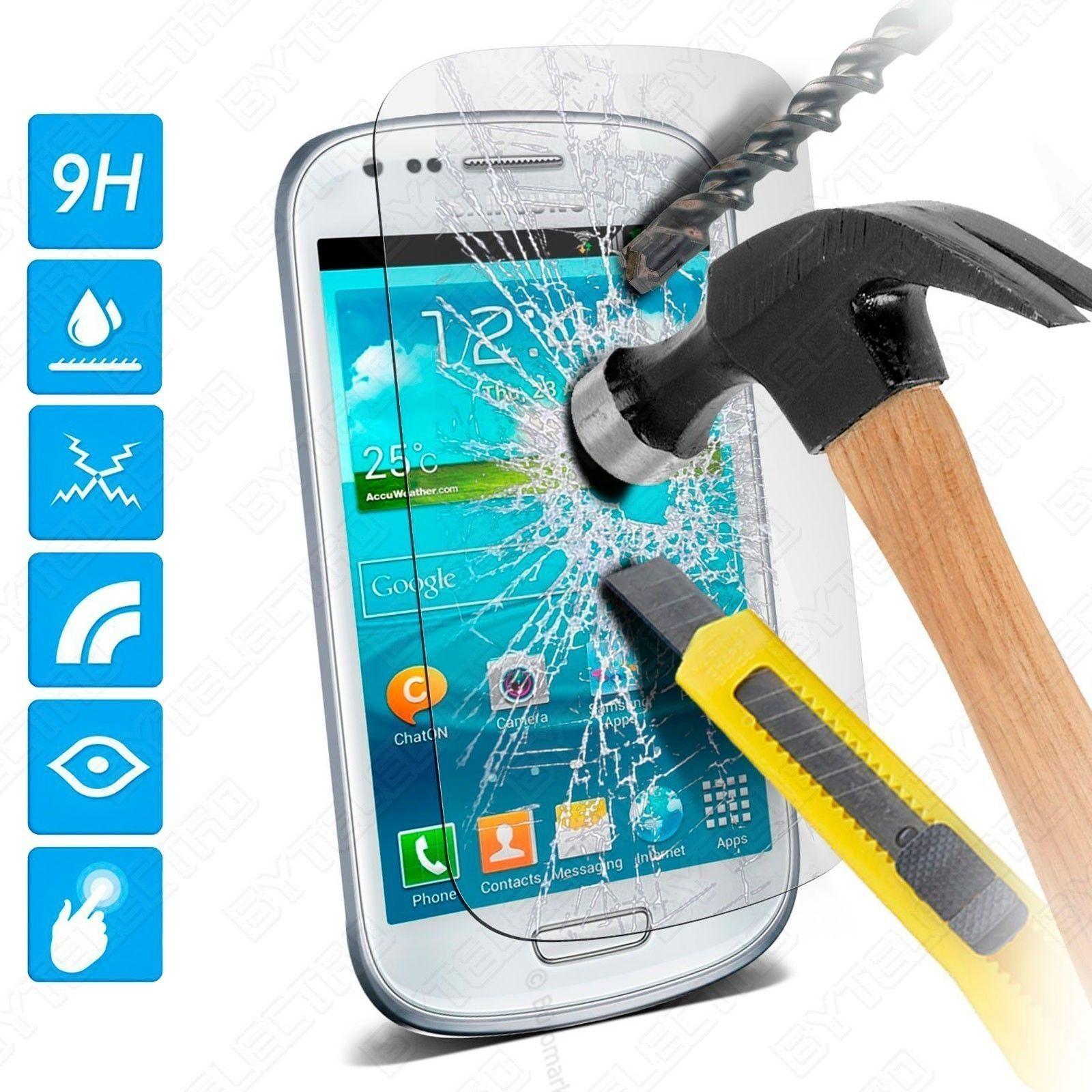 Protector Pantalla CRISTAL TEMPLADO PREMIUM Para Samsung GALAXY S3 Mini i8190 0