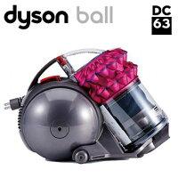 戴森Dyson到Dyson DC63 turbinerhead 雙層氣旋圓筒式吸塵器 桃紅款(福利品)