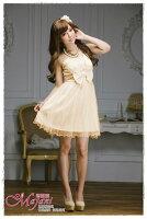 時尚洋裝 小禮服推薦到[瑪嘉妮Majani]- 甜美 氣質 大尺碼小禮服 伴娘服 宴會 約會 L~3XL 特價590元免運 ld-012