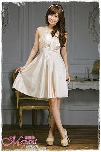 [瑪嘉妮Majani]- 甜美 氣質 大尺碼小禮服 伴娘服 宴會 約會 L~3XL 特價590元免運 ld-021