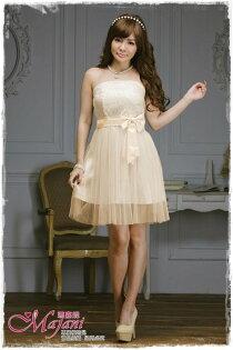 [瑪嘉妮Majani]- 甜美 氣質 大尺碼小禮服 伴娘服 宴會 約會 L~3XL 特價590元免運 ld-052