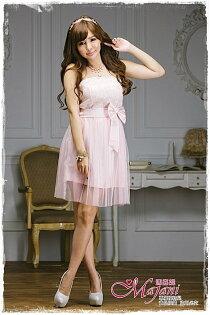 [瑪嘉妮Majani]- 甜美 氣質 大尺碼小禮服 伴娘服 宴會 約會 L~3XL 特價590元免運 ld-053