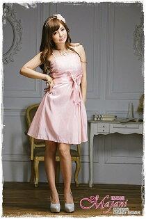 [瑪嘉妮Majani]- 甜美 氣質 大尺碼小禮服 伴娘服 宴會 約會 L~3XL 特價590元免運 ld-062