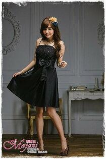 [瑪嘉妮Majani]- 甜美 氣質 大尺碼小禮服 伴娘服 宴會 約會 L~3XL 特價590元免運 ld-063