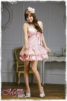 時尚洋裝 小禮服推薦到[瑪嘉妮Majani]- 甜美 氣質 大尺碼小禮服 伴娘服 宴會 約會 L~3XL 特價590元免運 ld-072