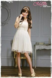 [瑪嘉妮Majani]- 甜美 氣質 大尺碼小禮服 伴娘服 宴會 約會 L~3XL 特價590元免運 ld-102