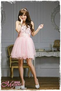 [瑪嘉妮Majani]- 甜美 氣質 大尺碼小禮服 伴娘服 宴會 約會 L~3XL 特價590元免運 ld-112