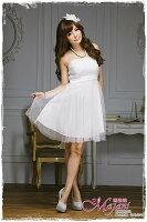 時尚洋裝 小禮服推薦到[瑪嘉妮Majani]- 甜美 氣質 大尺碼小禮服 伴娘服 宴會 約會 L~3XL 特價590元免運 ld-121