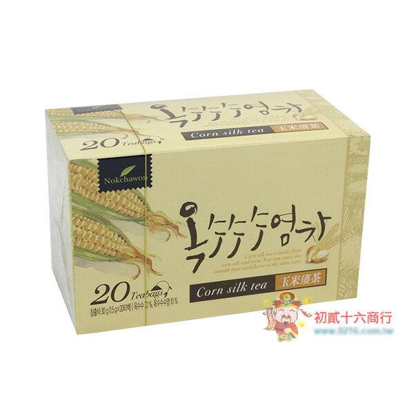 【0216零食會社】韓國-優龍玉米鬚茶(20包入)