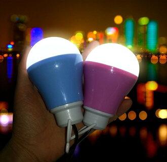 馬卡龍 5V 5W LED 燈泡 帳篷燈 露營燈 野營燈 可攜帶式照明 非 瓦斯燈 防蚊燈 汽化燈