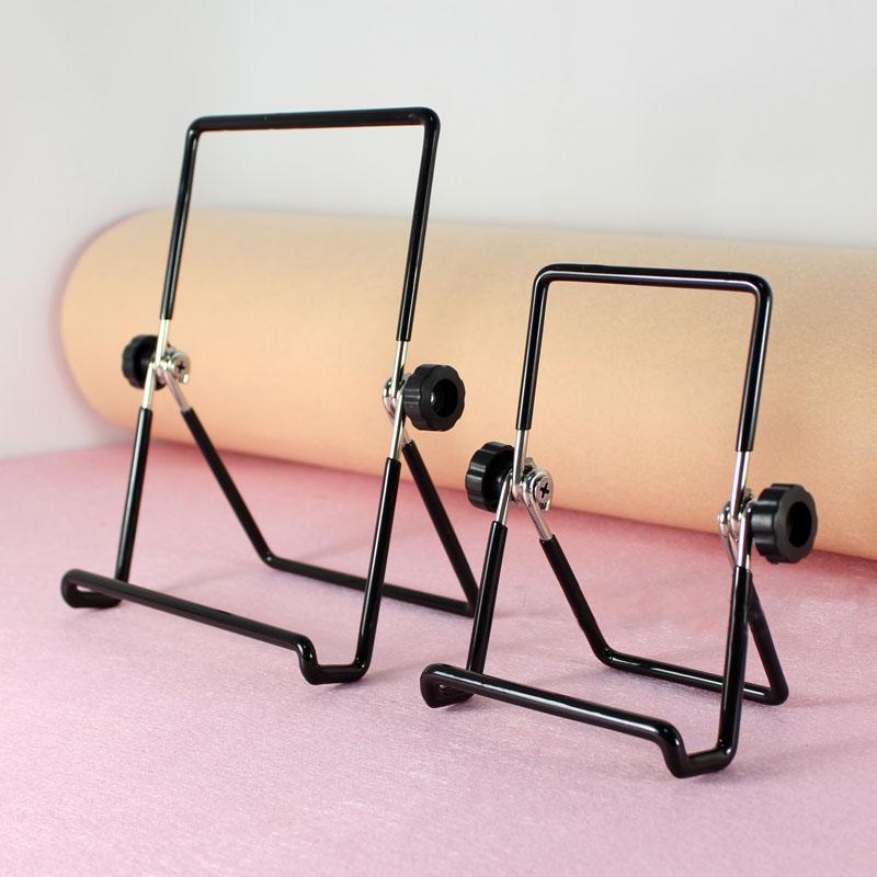 *GouQu* 平板電腦支撐架 可折疊式懶人支架 手機支架金屬懶人旋轉折疊支架 (小)