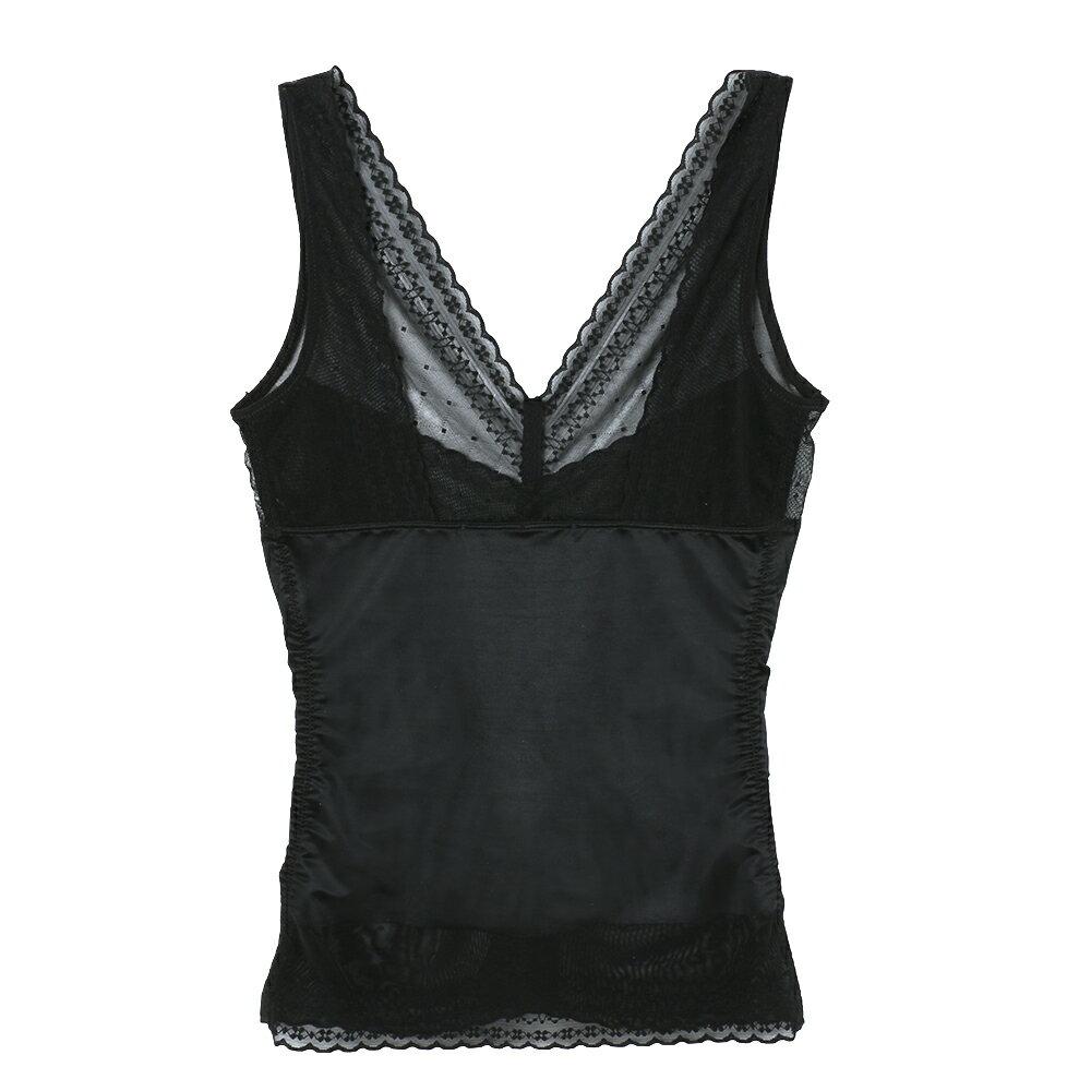 【夢蒂兒】280丹 俏女爵無痕機能 塑身上衣束衣(黑) 1