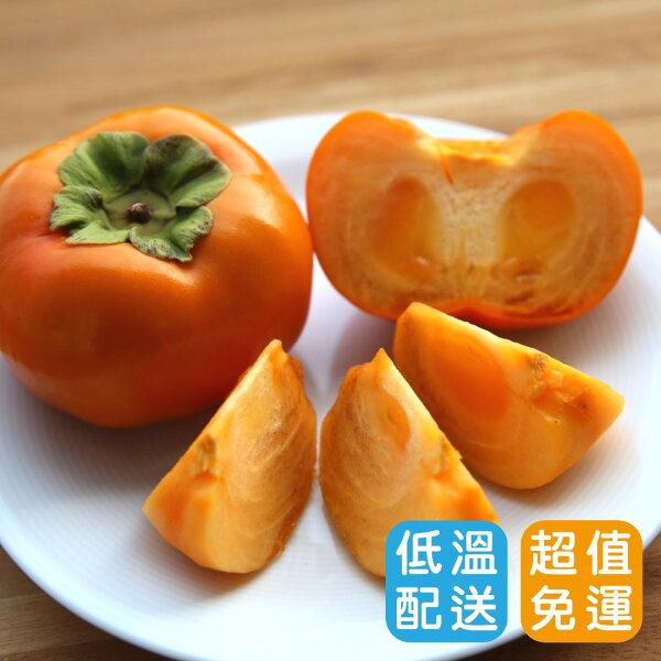 【免運】達觀摩天嶺高山甜柿(脆柿)6入裝