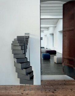 義大利B-Line Spinny Design by Studio Joe Colombo 2004 360度收納柜旋轉柜抽屜儲物櫃辦公室文件旋轉柜有腳輪