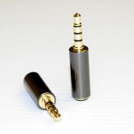 志達電子 EPEL011 3.5mm OMTP轉CTIA 四極轉接頭 for NOKIA/Samsung/HTC/SONY