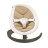 NUNA - Leaf Curv搖搖椅 (深米) 贈品牌手提袋+可愛玩偶吊飾,加贈專用玩具條! - 限時優惠好康折扣