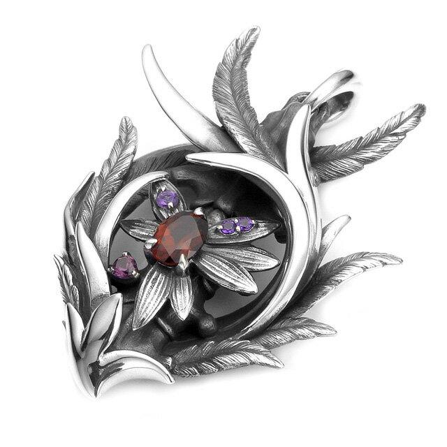 【絕版現貨】【Bloody Mary】Quanah光明之鳥寶石純銀墜飾 - 石榴石(BMP1296-GAPtr  0775600000) 4