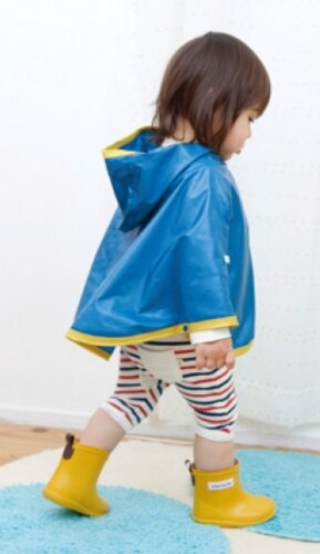 【本月贈鞋墊】日本【Stample】兒童雨鞋(青蘋綠) 3