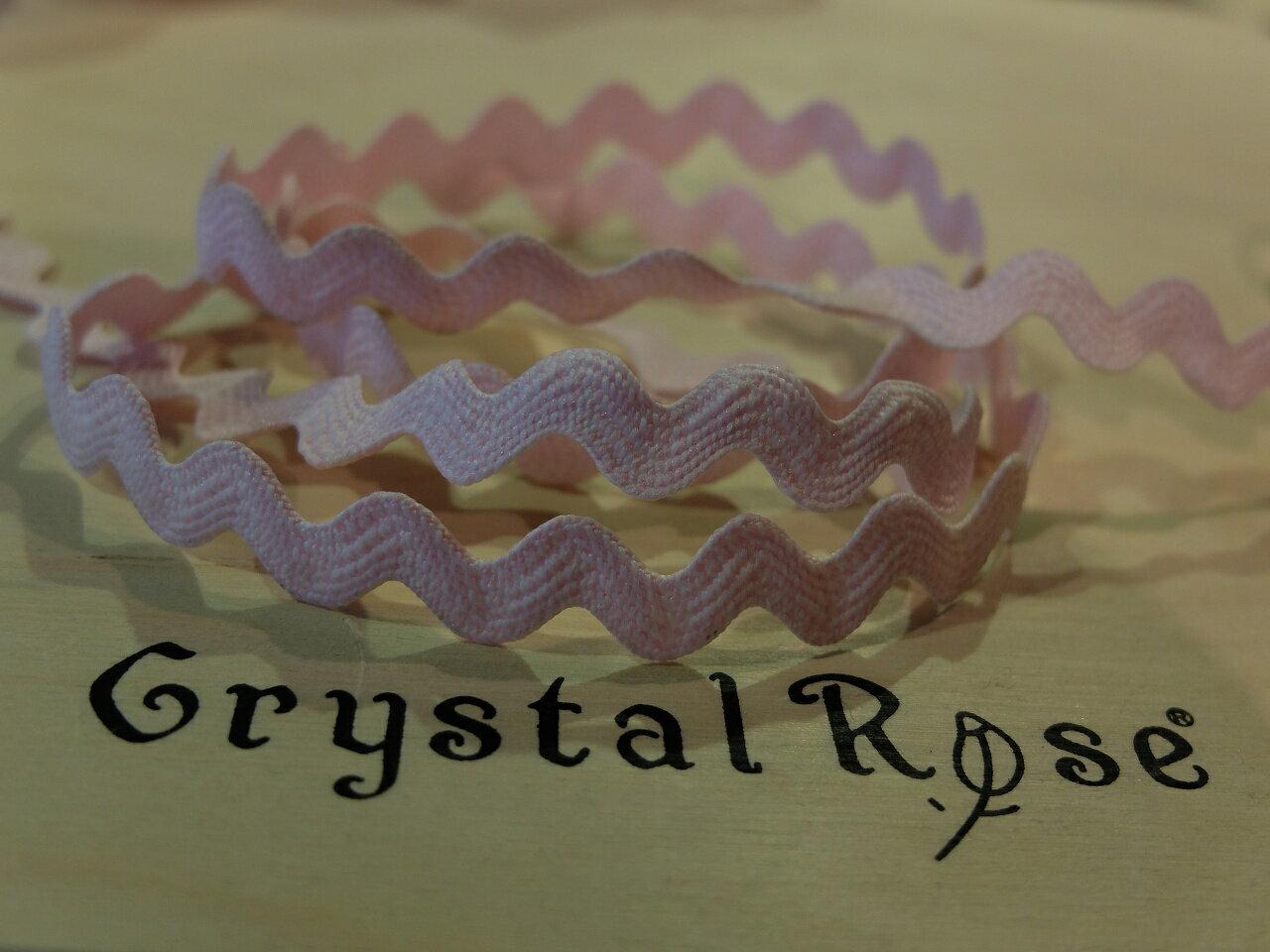【Crystal Rose緞帶專賣店】糖果彎彎帶(共四色) 2