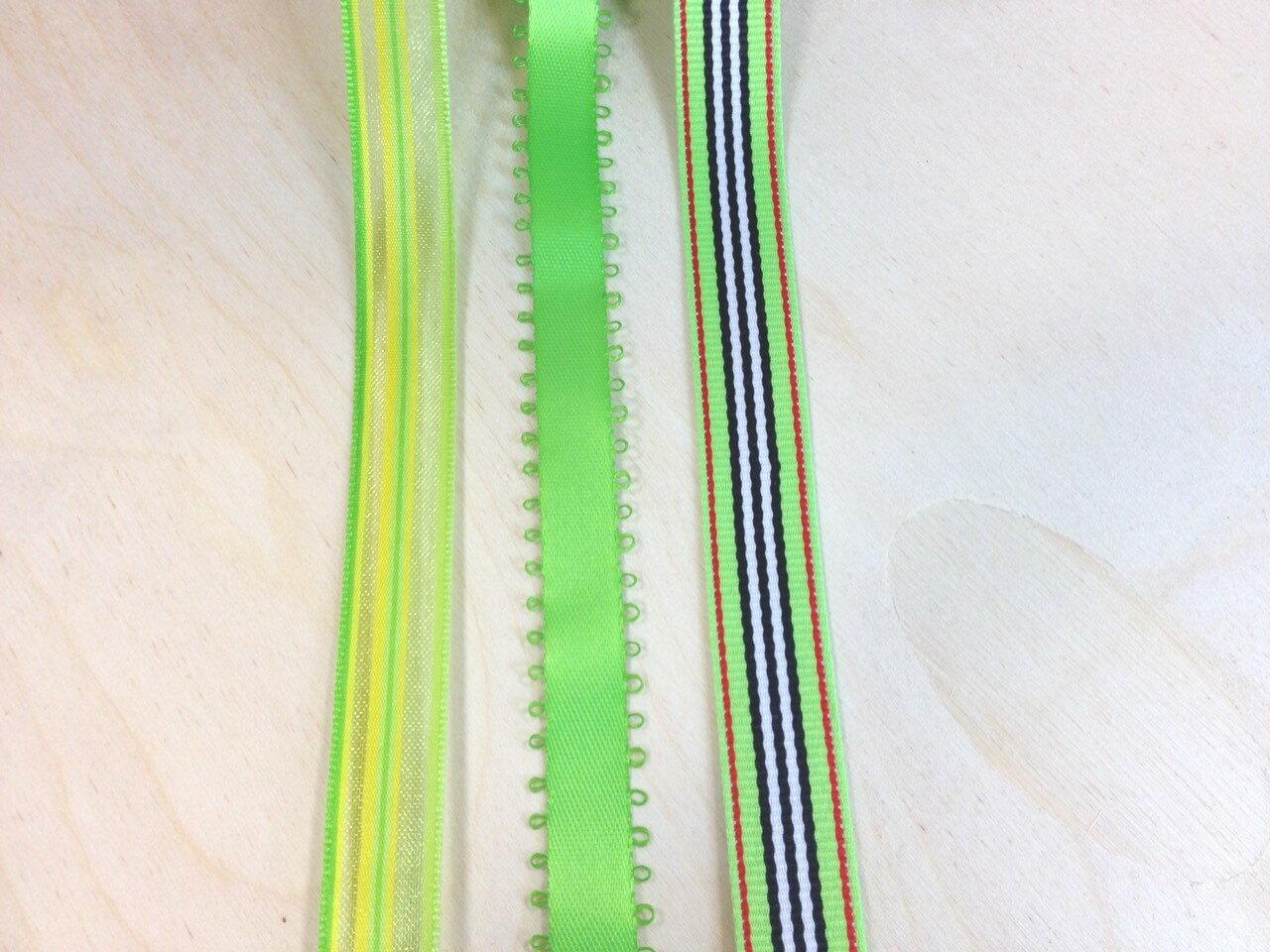 【Crystal Rose緞帶專賣店】甜甜檸檬緞帶組合 1