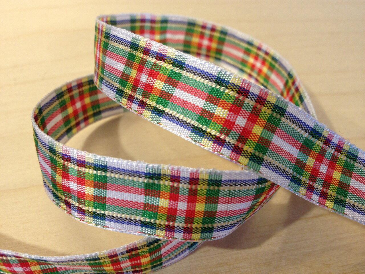 經典蘇格蘭格紋15mm(九色) 1