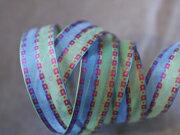 彩織方格網帶+鐵絲 25mm3碼 (4色) 2