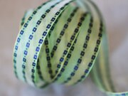 彩織方格網帶+鐵絲 25mm3碼 (4色) 0