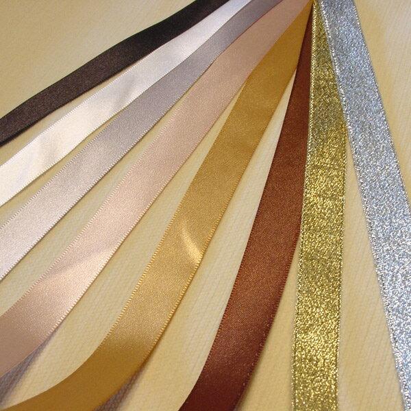 低調奢華系列盒裝-第五大道-雙面緞+經典金銀蔥織帶 1