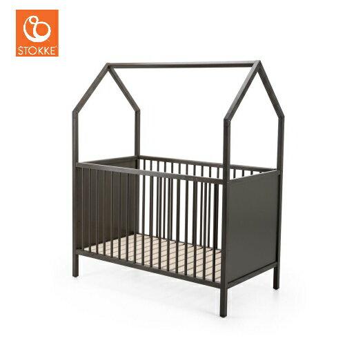 挪威【Stokke】Home 嬰兒床 (純白/深灰) 1