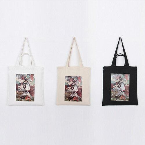 手提包 手提包 帆布袋 手提袋 環保購物袋--手提/單肩/拉鏈【SPA93】 BOBI  10/06 0