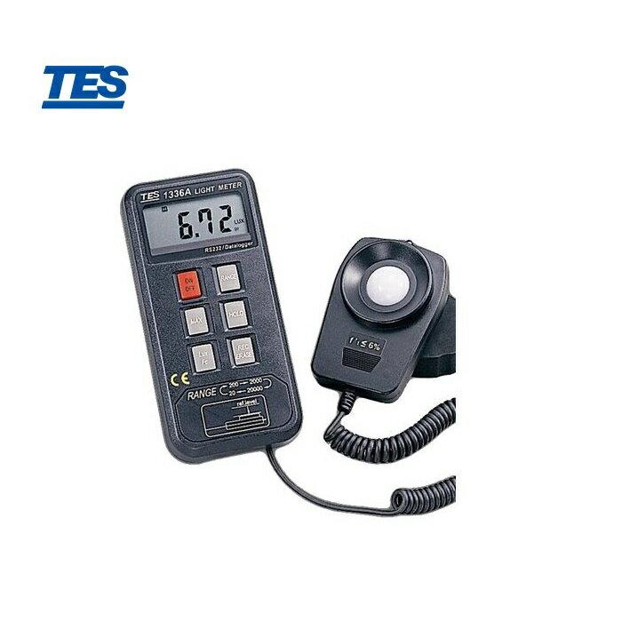 泰仕 TES-1336A 記憶式照度計 0