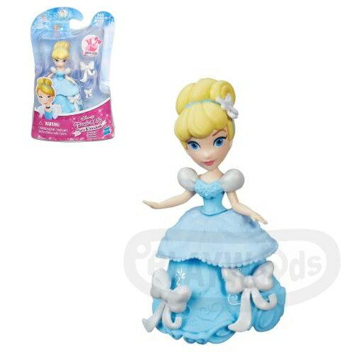 ~Playwoods~^~迪士尼公主DISNEY^~迷你公主人物組:灰姑娘 仙杜瑞拉Cin