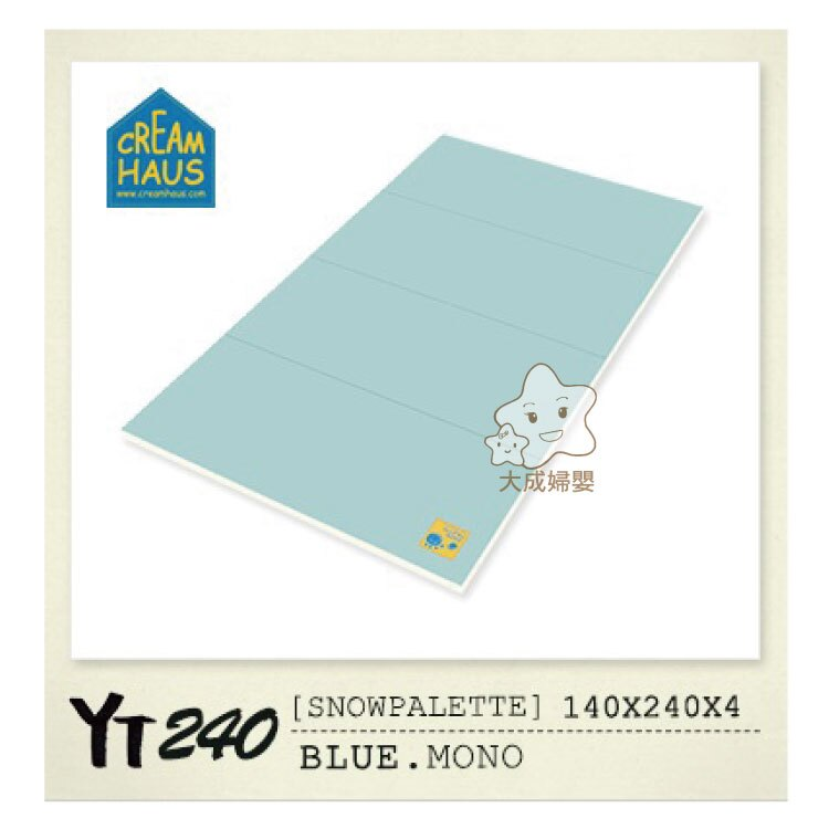 【大成婦嬰】RETRO 冰雪(YT240)地墊系列-140x240X4cm 0
