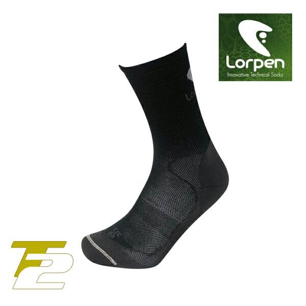 Lorpen T2 登山健行襪 CIC/城市綠洲(吸濕排汗、萊卡、彈性耐用、西班牙)