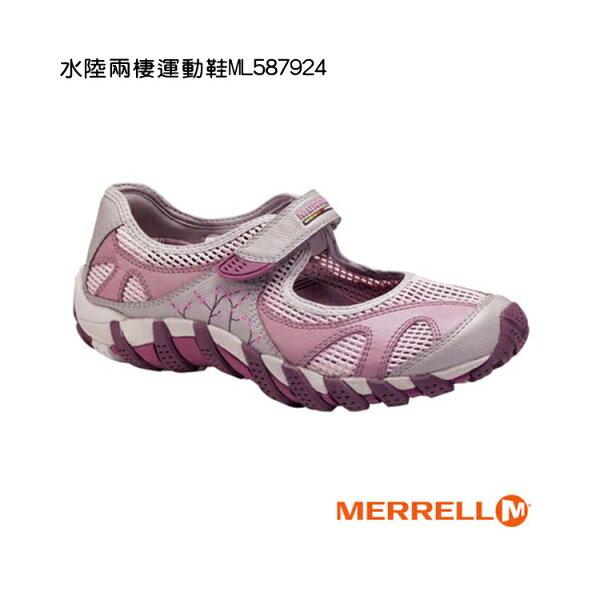 MERRELL 水陸兩棲運動鞋ML587924/城市綠洲(女鞋.紅色系.休閒鞋.娃娃鞋.戶外登山用品)