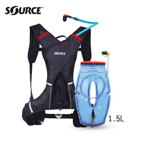 Source 超輕量慢跑水袋背包Dune 1.5L/城市綠洲(路跑水袋.符合人體工程設計.以色列原裝進口)