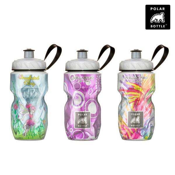 Polar Bottle 12oz 保冷水壺 (355ml) / 城市綠洲 (運動水壺.不含雙酚A.雙層隔熱)