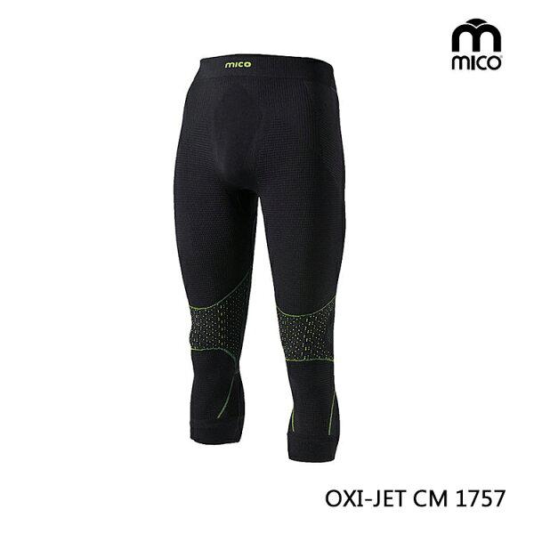 MICO 男OXI-JET肌肉七分褲1757/城市綠洲專賣(三鐵衣.瘋三鐵.運動衣.鐵人三項)