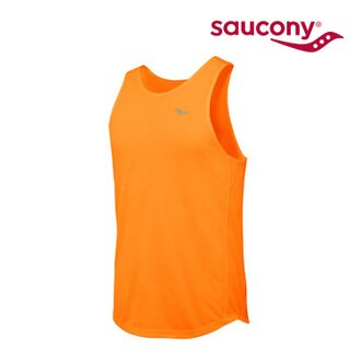 Saucony 男款 慢跑背心SY80643 (M~XL) / 城市綠洲 (跑步.透氣.吸濕排汗.運動)