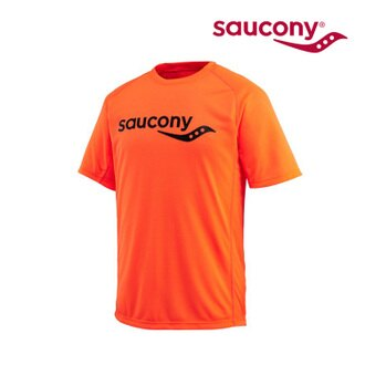 Saucony 男款 吸濕排汗圓領衫SY80649 (M~XL) / 城市綠洲 (跑步.透氣.吸濕排汗.運動)