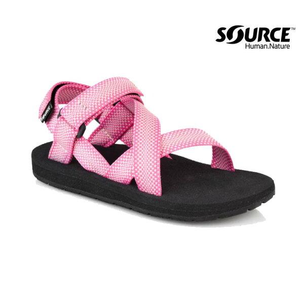Source 兒童運動涼鞋CrosserKids' 101043A4/織帶+一體成形+輕量+快乾+抑菌(城市綠洲)