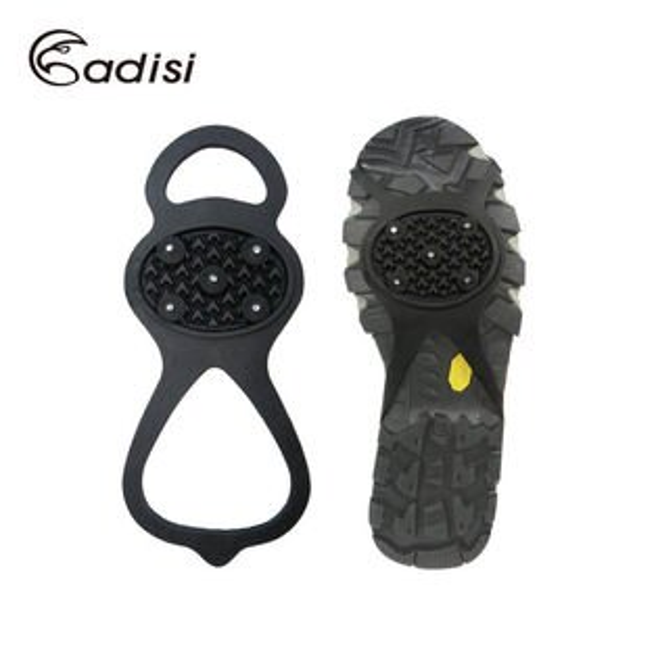 ADISI 葫蘆型防滑鞋套 AS14150 (M~L)/5釘 / 雪地旅行裝備(簡易雪鞋) / 城市綠洲專賣