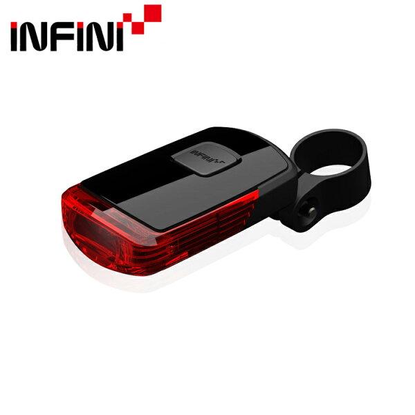 INFINI 1顆LED紅光尾燈 I-411 /城市綠洲 (車尾燈、自行車車燈、燈光、鐵人三項)