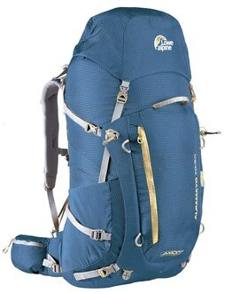 Lowe alpine Alpamayo 登山健行背包FBP-60-70 (70+20L/邦地海灘藍)/城市綠洲 (後背包、登山露營、樂天、旅行)