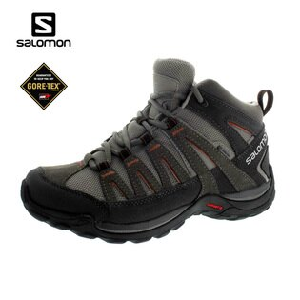 SALOMON 男GTX中筒健行登山鞋373169 / 城市綠洲 (運動鞋、休閒鞋、Sport、Ortholite)