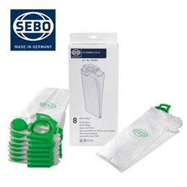 SEBO FELIX 系列Ultra-Bag過濾集塵袋8入一組7029ER