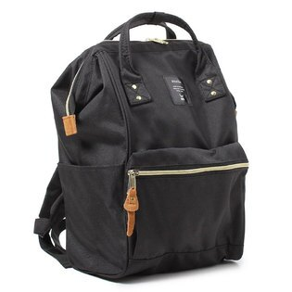 anello 黑色 日本帶回正版 帆布水洗 大後背包 寬27×高40×厚14cm