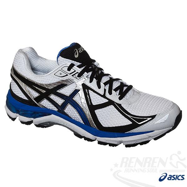 ASICS亞瑟士 GT-2000 3 男支撐型慢跑鞋(白*黑)。