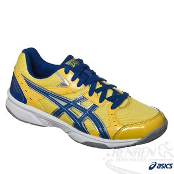ASICS亞瑟士 RIVRE CS 排球鞋(黃*藍) 可當羽球鞋 室內場地適用 2015新到貨