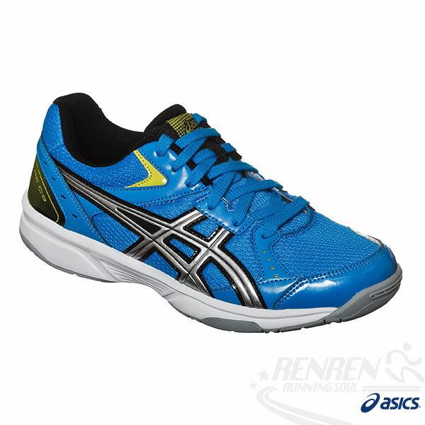 ASICS亞瑟士 RIVRE CS 排球鞋(藍*銀) 可當羽球鞋 室內場地適用 2015新到貨